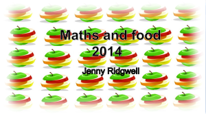 mathsandfoodpower