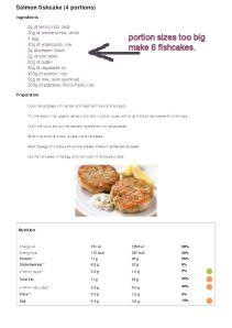 Salmon fishcakeamended