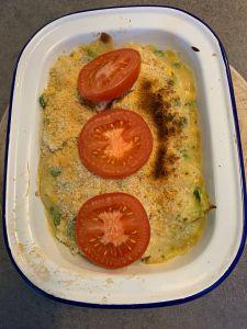 Vegan macncheese dish